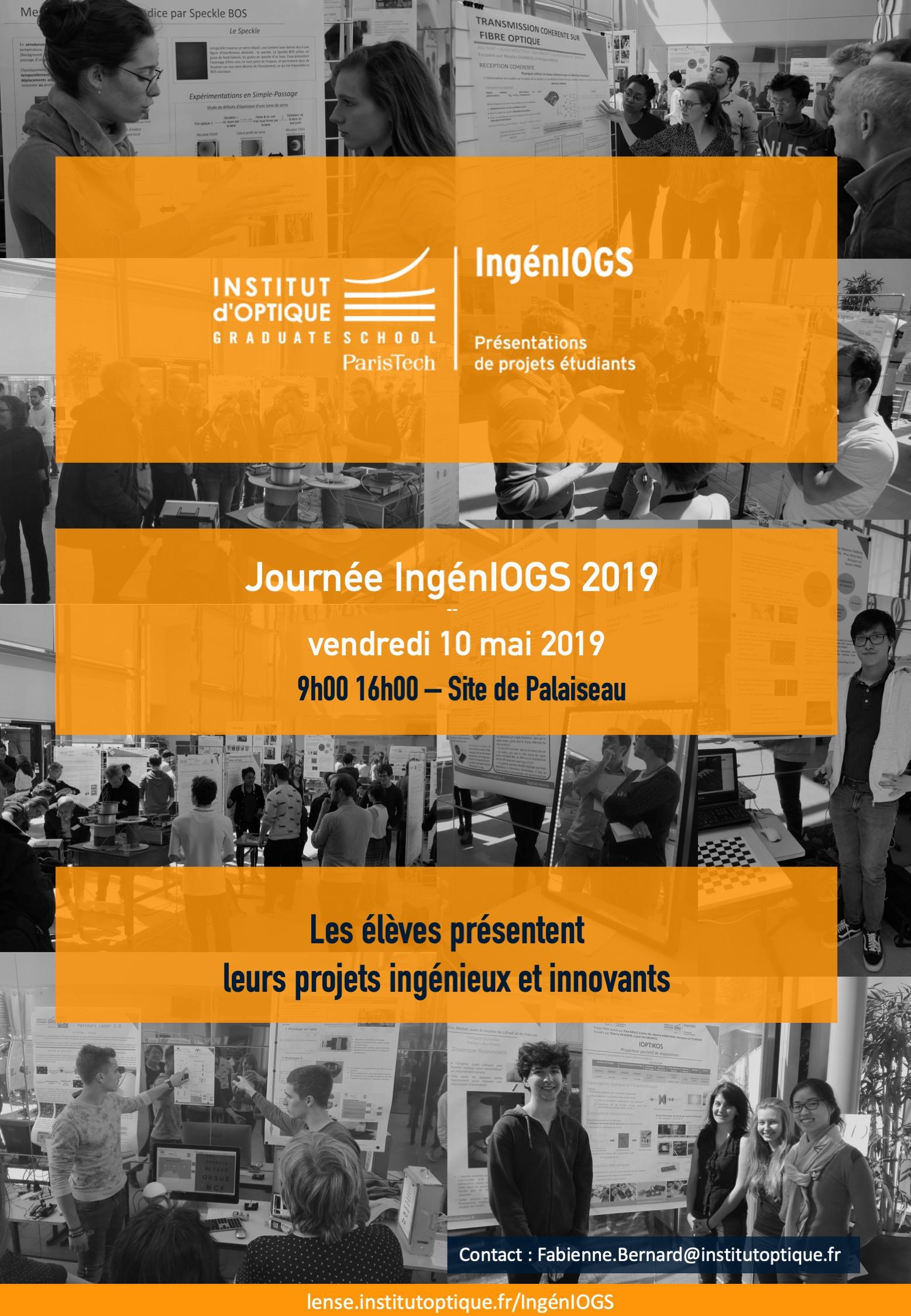 Journée IngénIOGS 2019