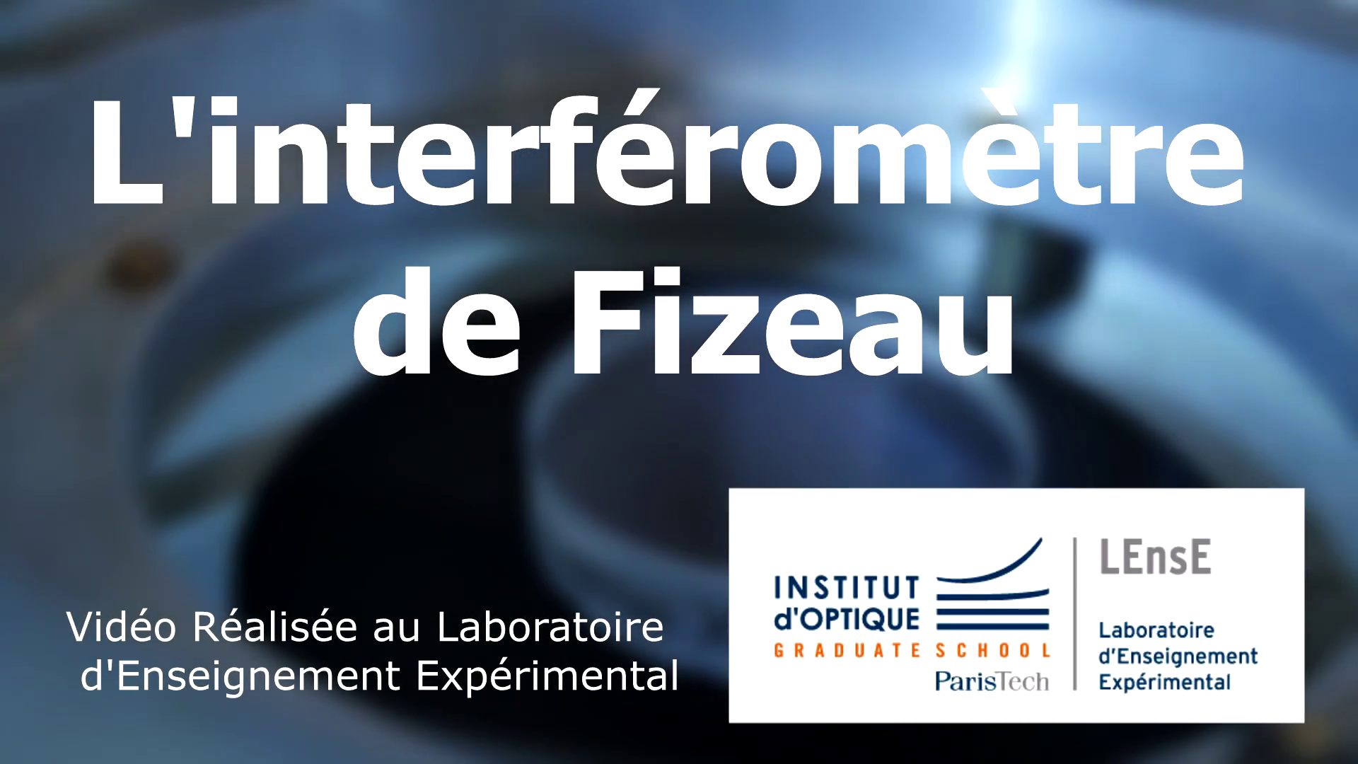 Interféromètre de Fizeau