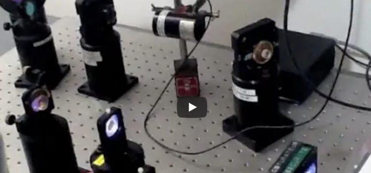 Sources Laser. Vidéos réalisées par les élèves.